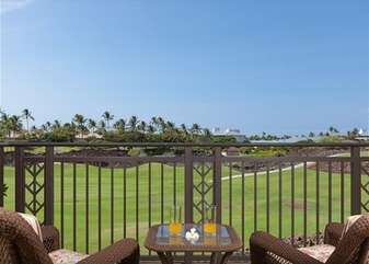 Golf Course Views on the Upper Lanai