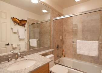 Bathroom with Shower-Tub Combo
