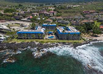 Aerial view of the Kona Reef complex