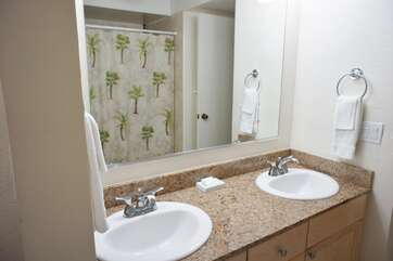 Master Bathroom Dual Sinks