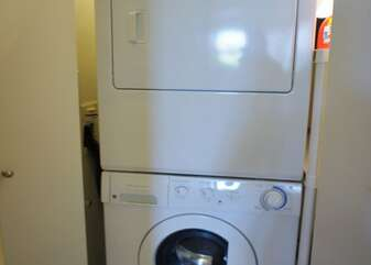 Full Size In Unit Washer and Dryer