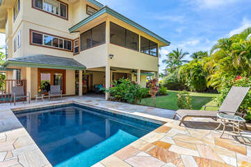 Keiki Beach 6 with Private Pool