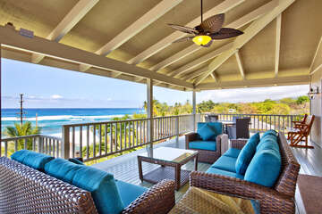 Fantastic Lanai with Amazing Ocean Views