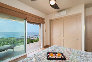 Bedroom 2 with Great Views and Access to Lanai