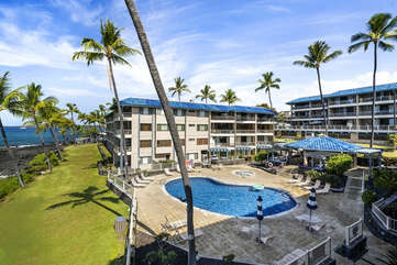 View of the complex from lanai