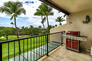 BBQ on your private lanai!
