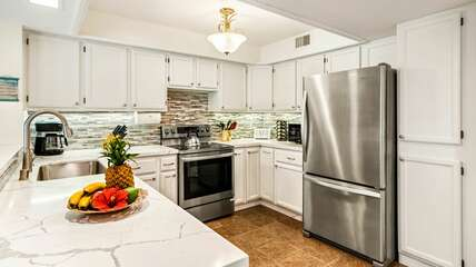 Newly remodeled kitchen in 2021