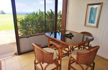 Dining Table On Lanai
