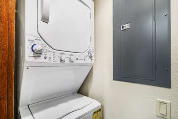 In-unit washer/dryer