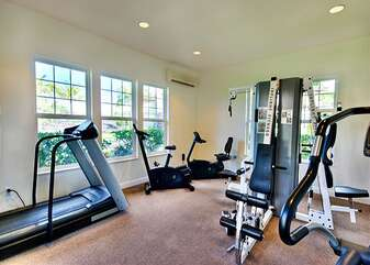 Air-Conditioned Fitness Room
