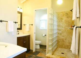 Master Bathroom with Beautiful Tiled Walk-In Shower