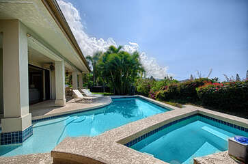 Private Pool with plunge pool