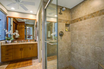 Master Bathroom with Walk in Shower