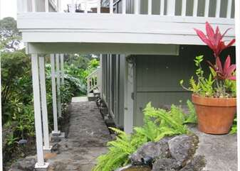 Rough Rock Hewn Path Leading to Ohana