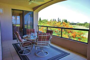 Lanai With Dining Area