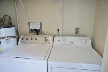 In Unit full size Washer and Dryer