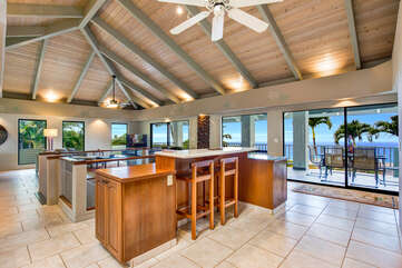 Enjoy Ocean Views From The Kitchen