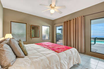 Bedroom 2 With King Bed And Ocean Views