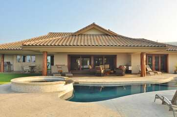 View of Home, Pool and Plunge Pool