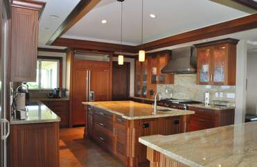 Spacious Upgraded Kitchen