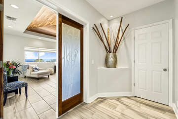 Entrance to Main Bedroom Suite of our Kona Hawaii Vacation Rental