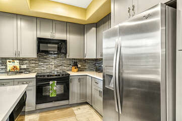 Completely remodeled and updated kitchen