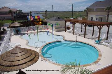 Access to a Secondary Swimming Pool with attached Playground on the Village by the Beach property.