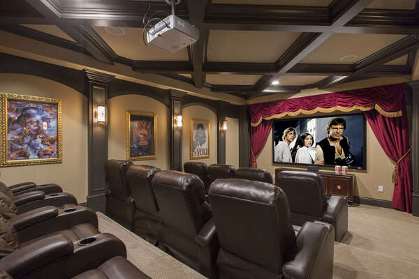 Feel like you are in the movie in this amazing theater
