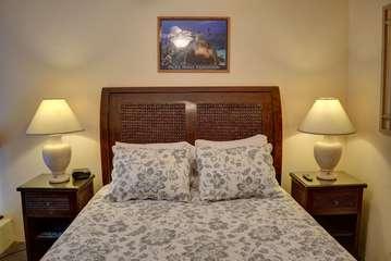Guest bedroom in loft