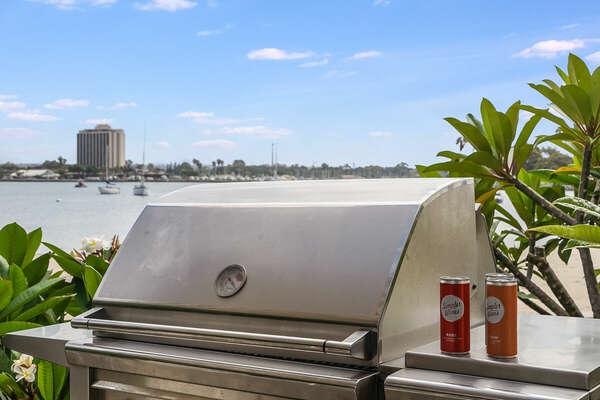 Patio w/ BBQ & Bay Views