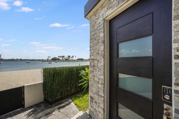 Front Door on Bayside Walk
