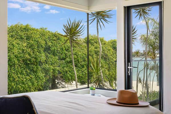 Master Bedroom w/ Bay Views