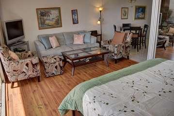 Elegantly decorated living room