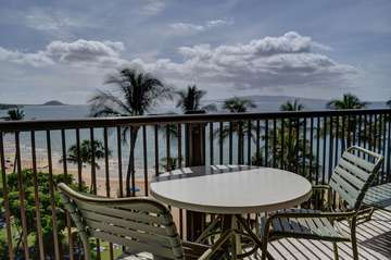 Oceanfront views from this Lanai