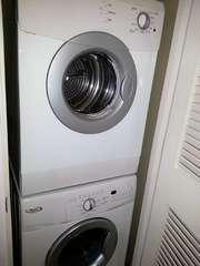 BRAND NEW FULL SIZE FRONT LOADER WASHER/ DRYER. WE EVEN INCLUDE 'H-E' SOAP