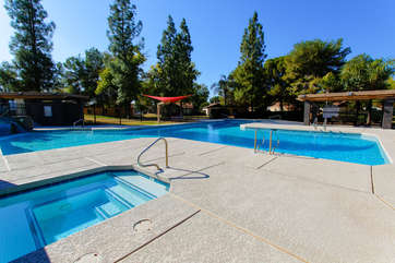 Resort-style community amenities are just across the street from our home.