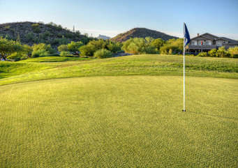 Premium golf courses abound in Mesa and surrounding area