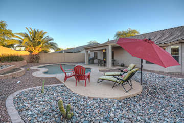 Welcome to the good life in the Sonoran Desert with 300+ days of sunshine.