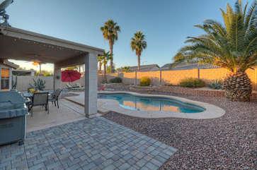 Sensational sunsets culminate the end of glorious Arizona days.