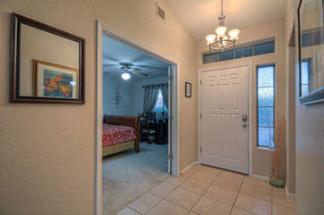 Entrance way welcomes you to our comfortable and stylish home.
