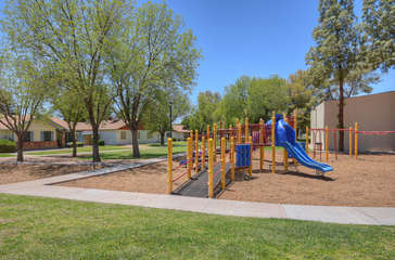 Community playground for those guests who are children or children at heart!