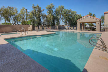 Two community pools (not heated) and hot tub are within walking distance of the condo and offer a cool splash or a revitalizing soak on warm days