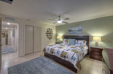 The primary suite is the perfect place to dream of adventures in the greater Phoenix area