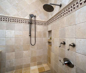 Luxurious shower
