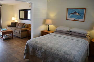 Bedroom to living room