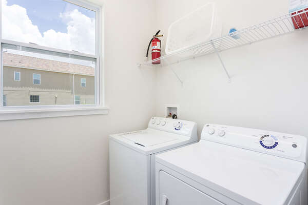 Your own private laundry room