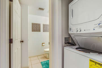 In-unit washer/dryer for your added convenience