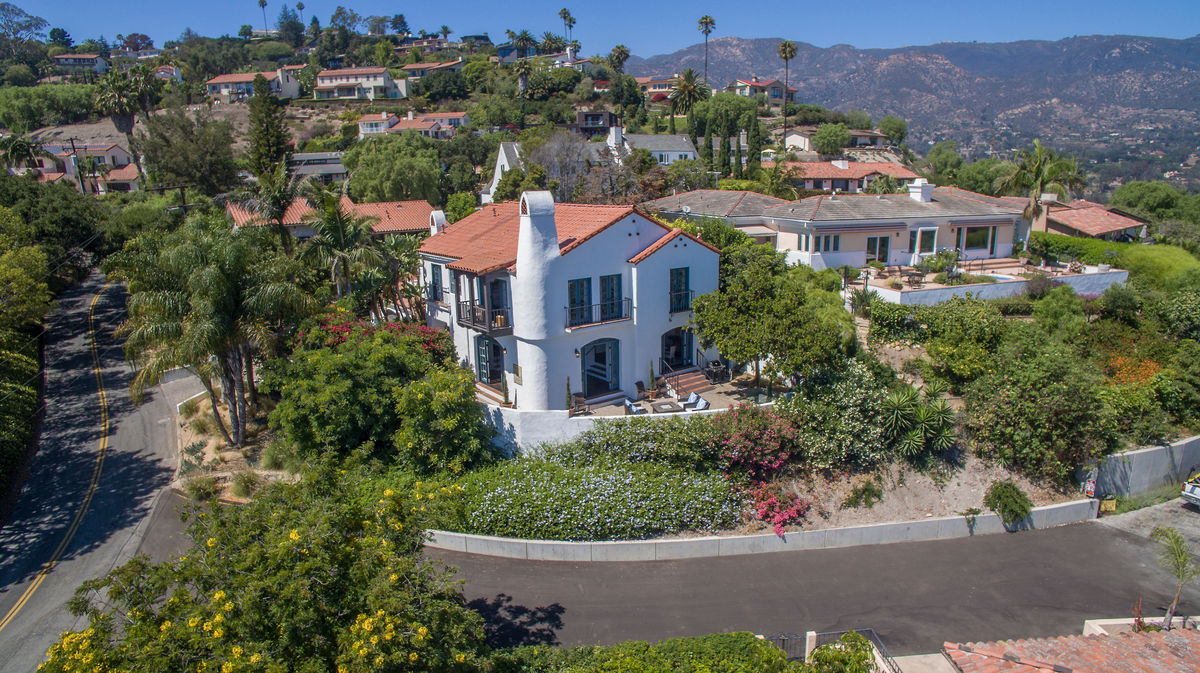 Tucked away atop the hills of Santa Barbara