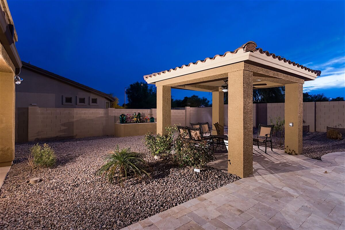 Outdoor Gazebo area