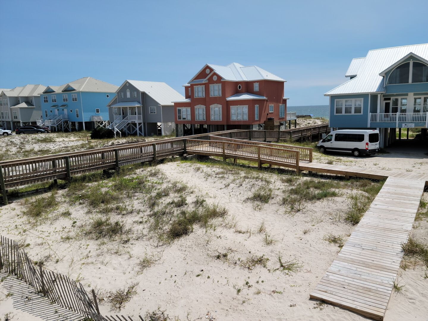Beach Boardwalk directly off the front steps!